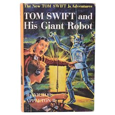 Tom Swift and His Giant Robot #4 by Victor Appleton II 1954