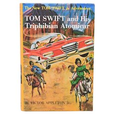 Tom Swift and His Triphibian Atomicar #19 by Victor Appleton II 1962