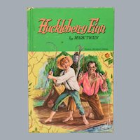 Huckleberry Finn by Mark Twain Whitman Classics 1955