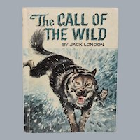 The Call of the Wild by Jack London Illustrated by Whitman Publishing 1960
