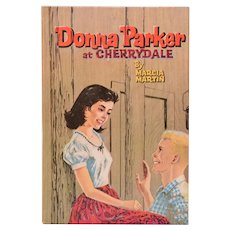 Donna Parker At Cherrydale by Marcia Martin Whitman Classics 1957