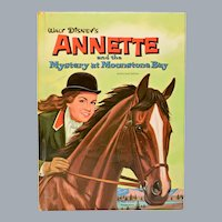 Walt Disney's Annette and the Mystery at Moonstone Bay by Doris Schroeder 1962