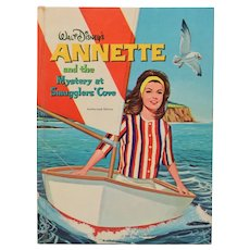 Walt Disney's Annette and the Mystery at Smugglers' Cove by Doris Schroeder 1963