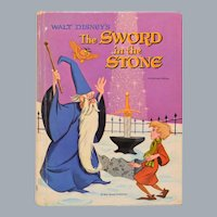 Walt Disney's The Sword in the Stone Retold by Mary Carey 1963