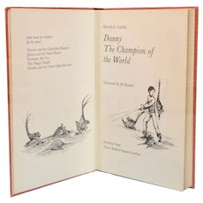 Danny, The Champion of the World by Roald Dahl First Edition 1975
