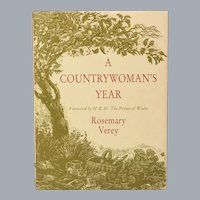 A Country Woman's Year by Rosemary Verey First US Edition 1989