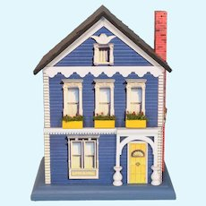 Dr. Dinglehum Animated Victorian House Music Box Plays Toyland by Paul Philips from Creative Clockwork 1994