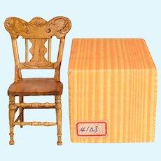 "Reminiscence Miniature Golden Oak Roll Top Desk Mint in Box 1980s 1"" Scale"