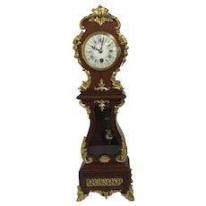 Rococo Miniature Longcase Clock