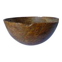 """Burl Bowl 13"""" Diameter"""