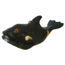 Folk Art DFD (Duluth Fish Decoys) Ice Fishing Spearing  Decoy Lure Killer Whale Shamu