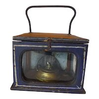 Carriage Foot Warmer Stove Lantern 19th Century