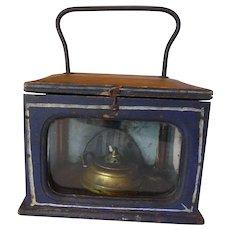 Carriage Foot Warmer Stove Lantern 19th Century