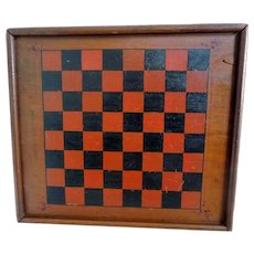 Gameboard Game Board Original Paint circa 1920