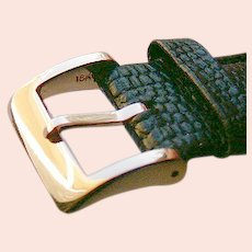 18K SOLID Gold Buckle For Watch Strap.