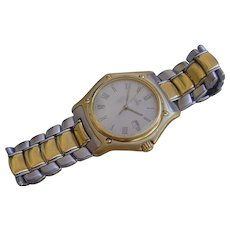 One Of A Kind !!! Gent's Ebel 1911, 18K Gold Case and Two Tone 18K/SS Bracelet.