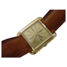 Vintage 18 Karat Gold Baume & Mercier, Gents Watch