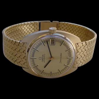 1969 Omega Seamaster 14K Gold cal. 563, Time Capsule Watch w/Omega Box