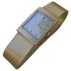 Vintage Corum, 18K Solid Gold Case & Bracelet. High Grade Movement,