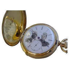 August Piguet, Huge 18K Gold Pocket Watch. Possibly Connected To R.H. Grant Family!!