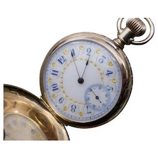 Beautiful 14K Gold Elgin Hunter Case Pocket Watch