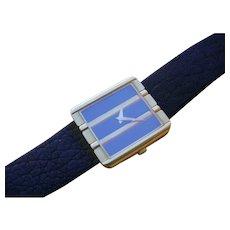 Elegant Piaget Polo 18K Gold Quartz Watch