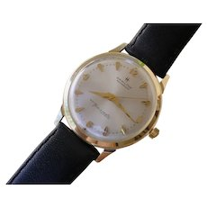 Elegant 10K Gold Hamilton Masterpiece Thin-o-matic