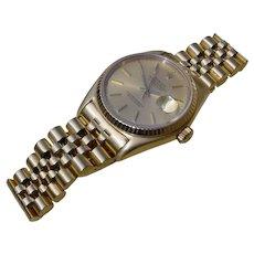 Rolex Datejust 16018, Quickset, Sapphire Crystal, Jubilee Bracelet.