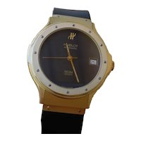 Hublot MDM 1581.3 18K Gold Gents Automatic Watch, 36mm