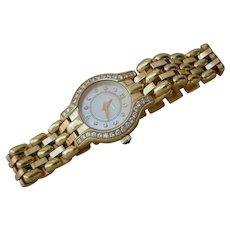 Ladies Concord La Scala 18K Gold & Diamonds