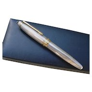 Montblanc 146 Le Grand Masterpiece, Fountain Pen, in 925 Sterling Silver w/ Box