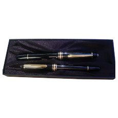 Montblanc Fountain Pen Set Of Two, 146 and 114