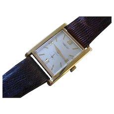 Vintage 1960s Aureole, Elegant Dress Watch, Gold Filled Case.
