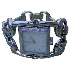 Gucci Signoria Lady's Watch, Horsebit Motif Design