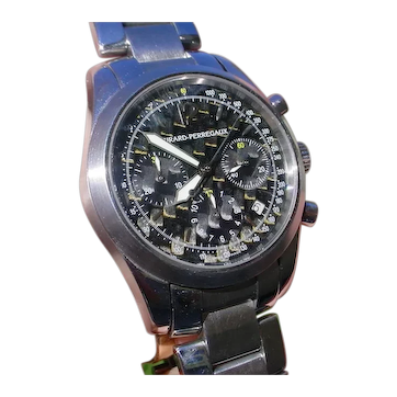 Girard Perregaux Chronograph ref. 4956, 63 Jewels Movement.