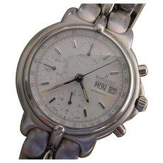 Bertolucci Pulchra Automatic Chronograph. Valjoux 7750, Day Date, Bertolucci Box