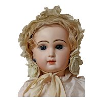 Amazing French Bisque BeBe Jumeau Size 10