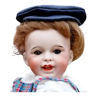 12 1/2 Cute  Character SFBJ 236 Laughing Jumeau French Toddler boy