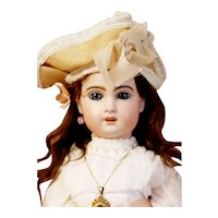 """Jumeau Doll with head marked """"10"""" with open mouth, original body"""