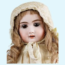 French Bisque Jullien Doll with Character Face ca 1888