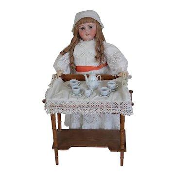 "Stunning 33"" (81 cm) Simon & Halbig 1079 DEP Antique Doll for French market."