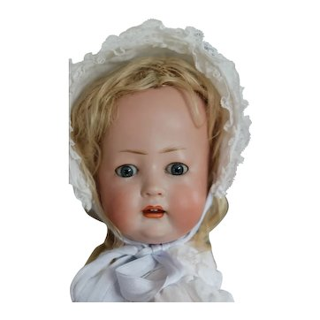 Character Antique Bruno Schmidt German Bisque Character Doll Tommy Tucker sister