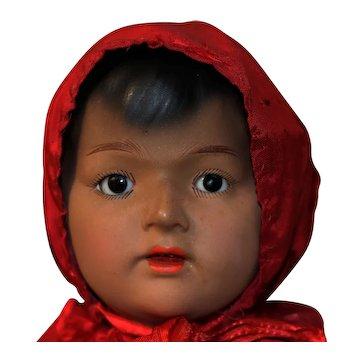 GERMAN brown doll 452 BY Heubach  KOPPELSDORF exotic doll series 1920