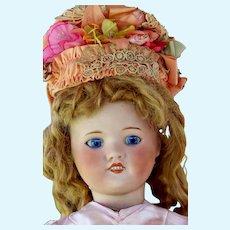 """Antique french  Bleuette type Doll  SFBJ 60 Paris  24"""""""