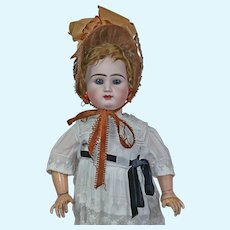 "29"" French Early Bebe by Rabery and Delphieu  antique dressed"