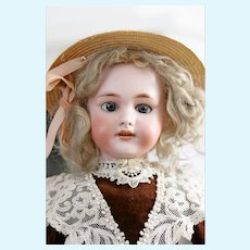 "21"" Antique French Doll size 8 SH for French Trade/Jumeau DEP"