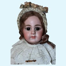 """17"""" RARE German Bisque Child 929 by Simon & Halbig Closed Mouth"""