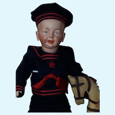 "21"" Rarest Character German Boy by Fritz Bierschenk"