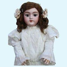 """26 """"Early German Bisque Head Child Doll Heinrich Handwerck 109"""