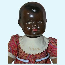 """16"""" Character Mystery German Doll  Ceramic head and composition hands."""